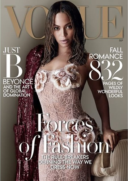 Beyonce for Vogue Sept 2015