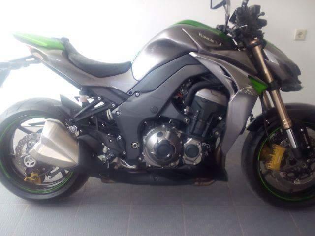 Kawasaki Z1000 Sugomi 2014