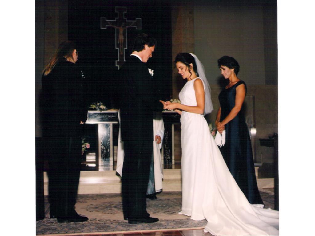 An elegant wedding reception