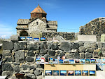 Outside Sevanavank Monastery, Lake Sevan, Armenia.