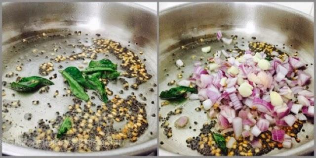 Potato Curry in South Indian Style (Urulaikilangu Kara Kari ) 3