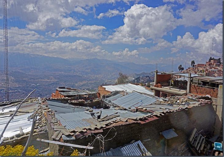 So Morgen über La Paz