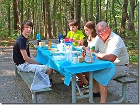 Nate Hannah Josh Camping Kerr Dam 013