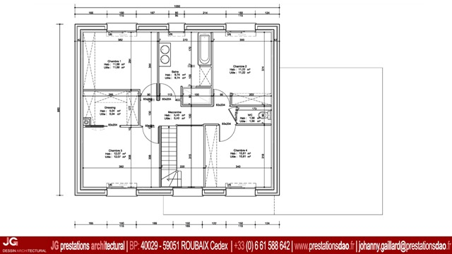Permis De Construire DUne Maison Cubique  Vieux Berquin