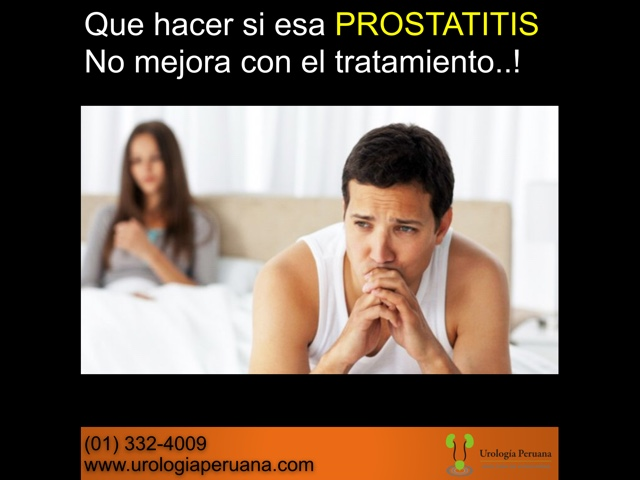 prostatitis cronica tratamiento natural