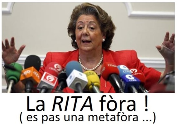 València la rita fòra