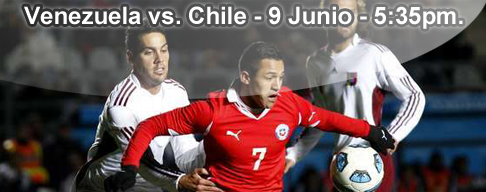 Venezuela vs Chile en VIVO - 9 Junio 2012