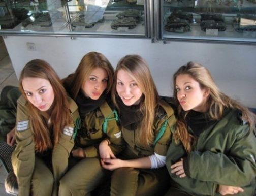 hot israeli soldiers