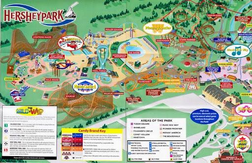 Hersheypark amusement park