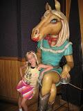 Hannah inside the Wildhorse Saloon in Nashville TN 09032011b