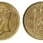 Munten Nederlandse Koninkrijk (goud)