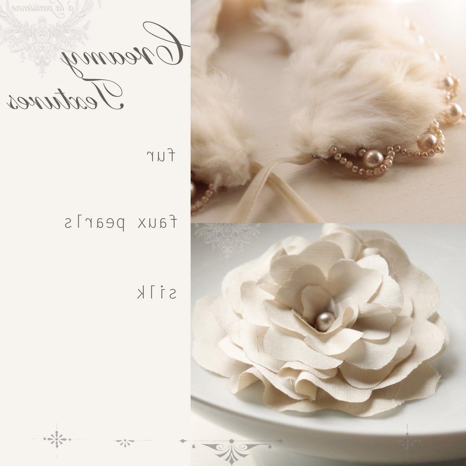 silk flower pin-for weddings