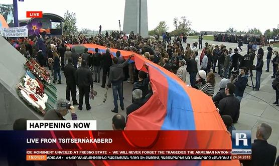 imatge de la commemoracion del genocidi dels Armenians 35
