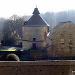 Abbaye Port-Royal des Champs : salle Gazier et pigeonnier