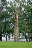 Gedenksteen in Kinsarvik.