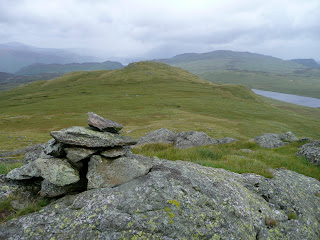 High Saddle Summit to Low Saddle and Blea Tarn