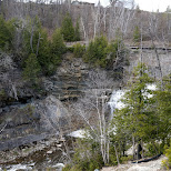 Forks of the Credit River in Caledon in Caledon, Ontario, Canada