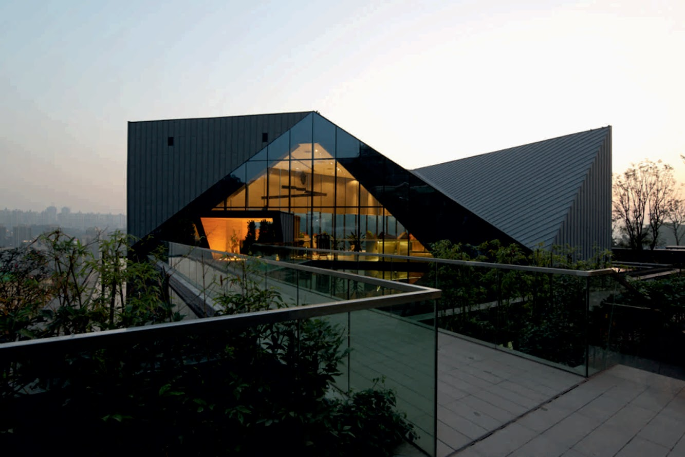 Chongqing, Cina: Chongqing Greenland Clubhouse by Pure Design