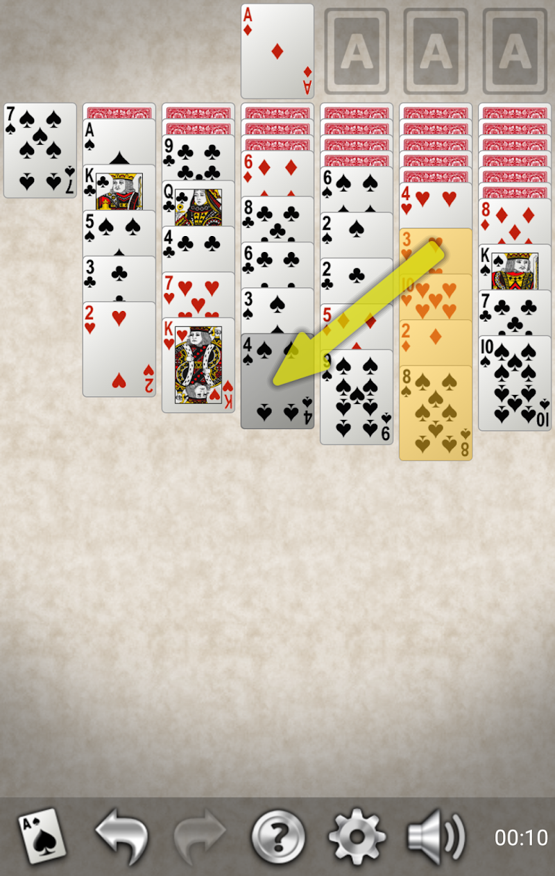 Yukon Gold Solitaire Screenshot 2