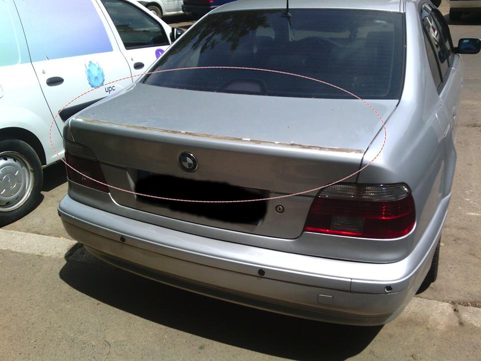 Eleron furat BMW Suceava