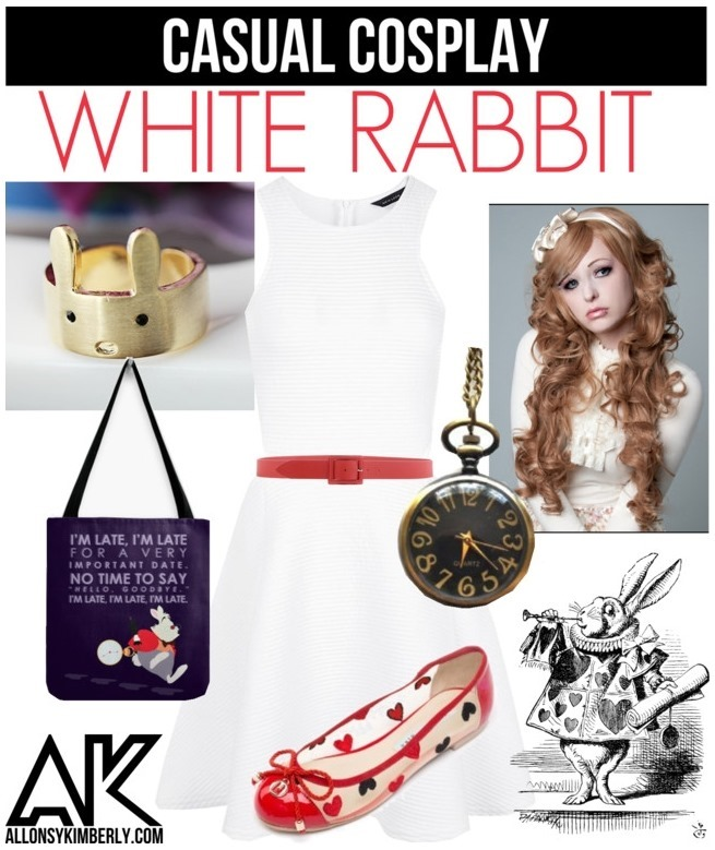 Casual Cosplay: White Rabbit (Alice in Wonderland) | allonsykimberly.com