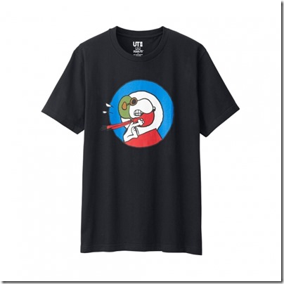 UNIQLO UT X Peanuts Movie Men Short Sleeve Graphic T-Shirt 10