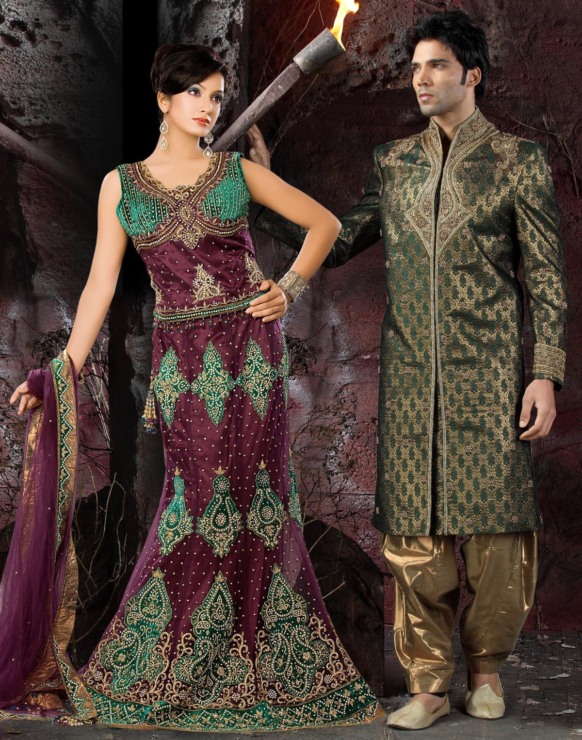 wedding Lehenga Choli and Mens