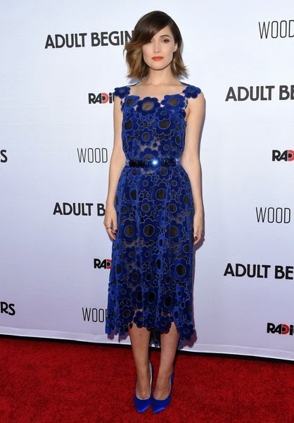 Rose Byrne Adult Beginners Premiere Red Carpet