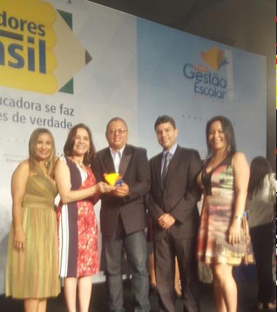 Foto 1 Escola da rede estadual de ensino de Açailândia recebe prêmio nacional de Gestão Escolar