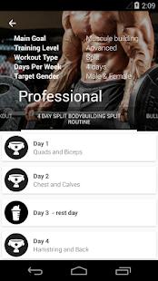 Fitness trainer GymApp Pro v2.0.1 Apk