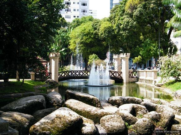 Ponte, Praça Batista Campos - Belém do Parà, foto:Carlos Macapuna su flikr