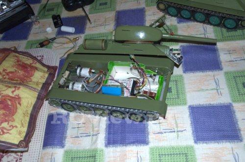 Радиоуправление танком своими руками 41