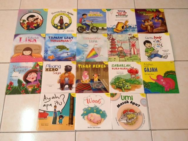 Koleksi 100 buah buku cerita kanak-kanak