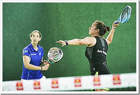 Ana Grandes & Paula Hermida Campeonas en el Federado del Circuito Estrella Damm.