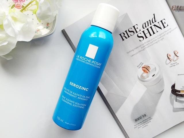 La Roche Posay Serozinc, Serozinc review, skincare for oily skin, toners, affordable skincare for oily skin, the best products for oily skin, beauty bloggers, Scottish beauty blogger