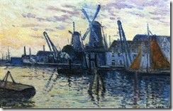 Maximilien-Luce-Mills-in-Holland