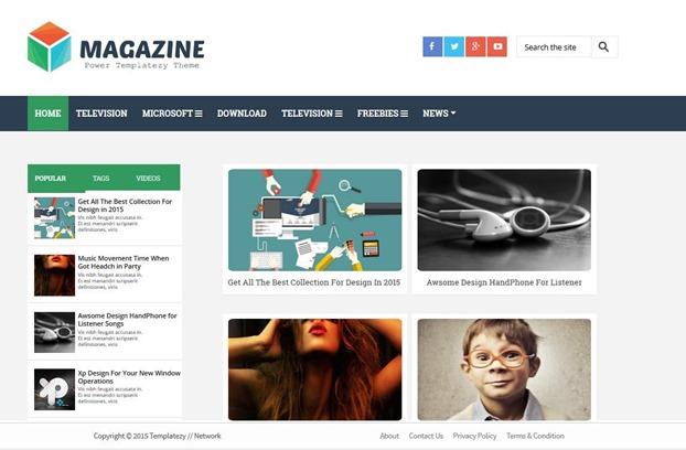 magazine-template