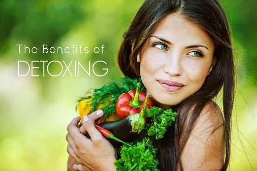 Detox has many benefits and can kick-start your goal to have a Healthy Living