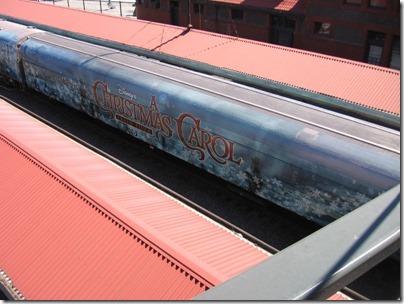 IMG_7635 Christmas Carol Train Car MRLX #801103 at Union Station in Portland, Oregon on July 1, 2009