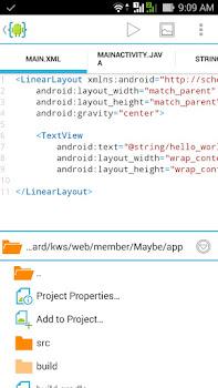 Aplikasi android buat koding