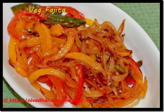 Mexican Cuisine - Veggie Fajita - IMG_1684