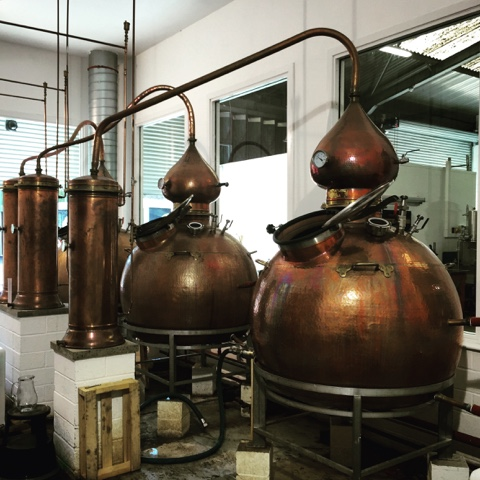 Gin Still, Eden Mill Brewery & Distillery, #LoveFife Chocolate, Seafood and Gin in the East Neuk