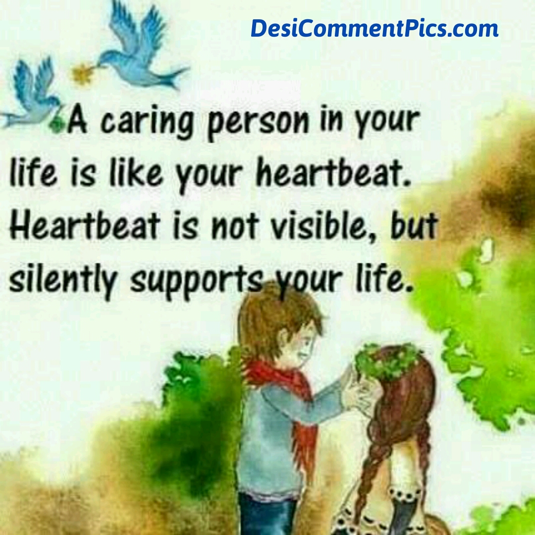 caring person quote image desi comment pics