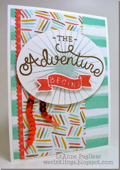 LeAnne Pugliese WeeInklings  Adventure Bound Graduation Stampin Up