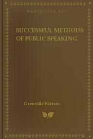 Cover of Grenville Kleiser's Book Successful Methods Of Public Speaking