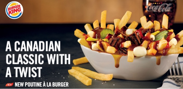 Burger King Whopper Poutine