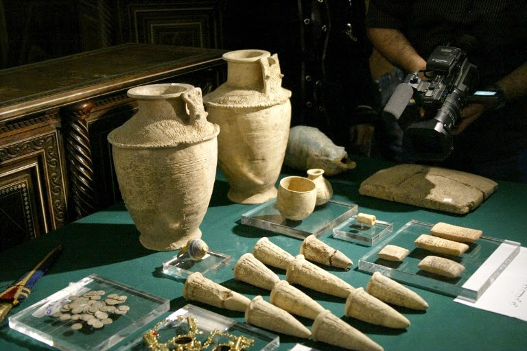 Near East: Race to save antiquities in Syria