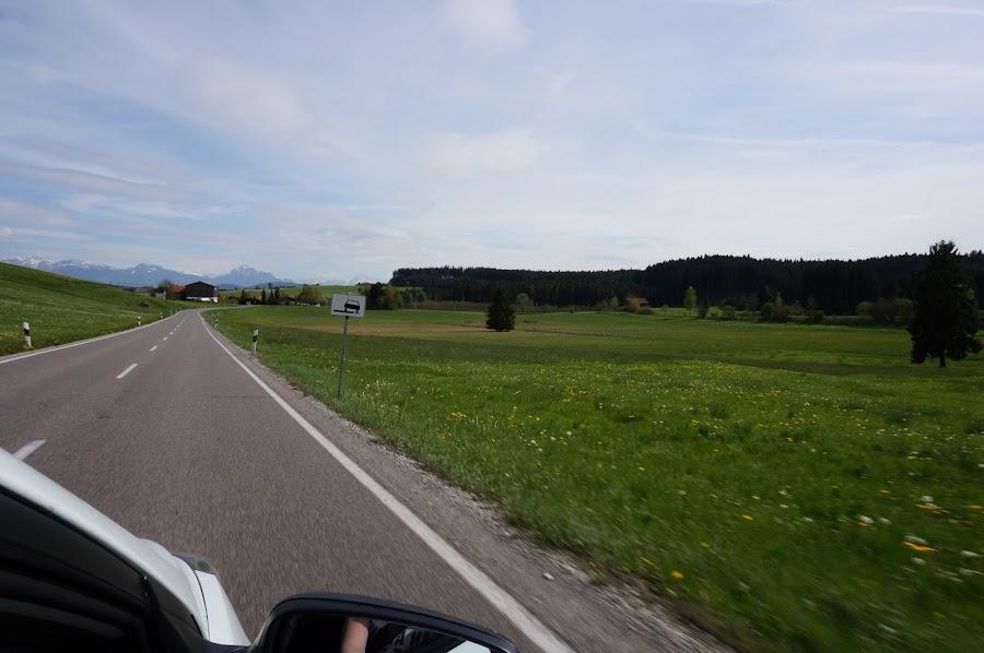 По дороге в Фюссен