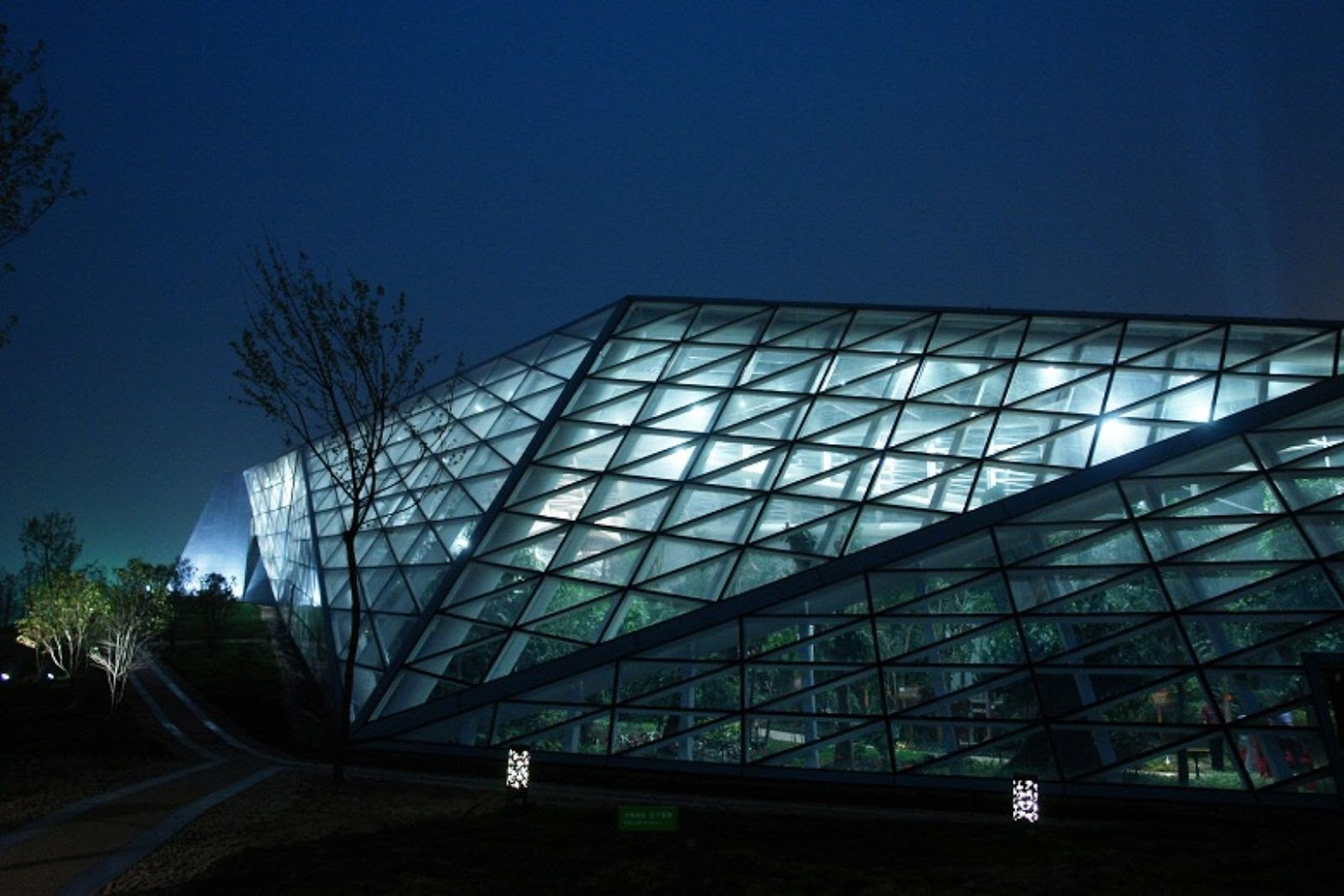 Xi'an, Scensi, Cina: [GREENHOUSE BY PLASMA STUDIO]