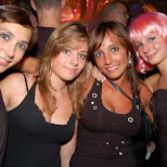 girls at sensation in Amsterdam, Noord Holland, Netherlands